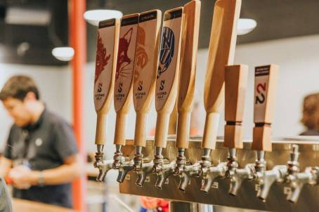 Craft Beers on tap at Second Self Beer Company