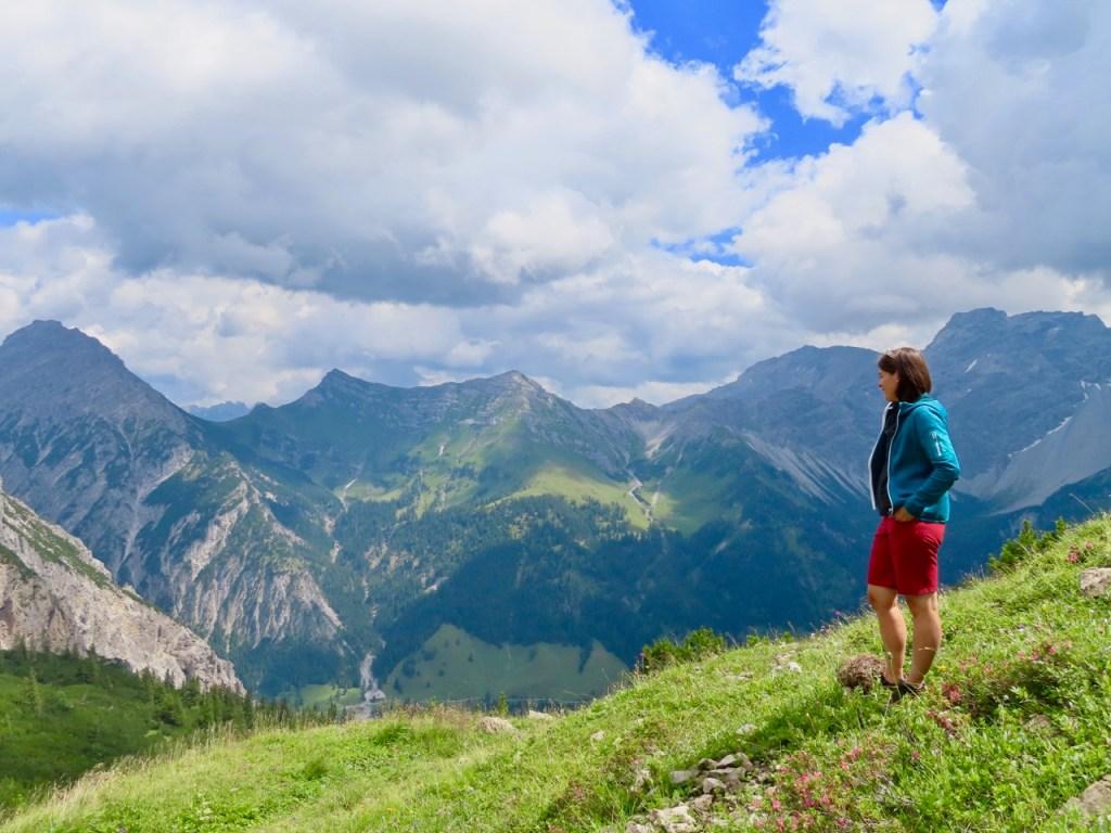 Trekking guide Berggotta Rosaria Heeb in Sareis, Liechtenstein