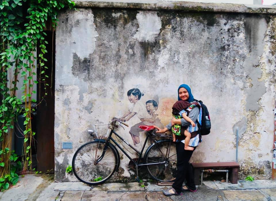 Woman in Penang