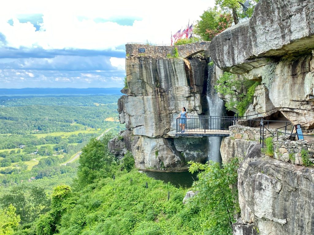Views of Rock City Chattanooga Tennessee