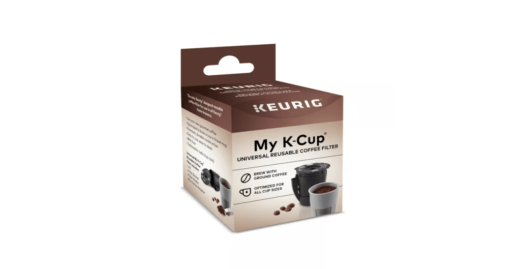 Reusable Coffee Pod from Keurig, a socially responsible solution.