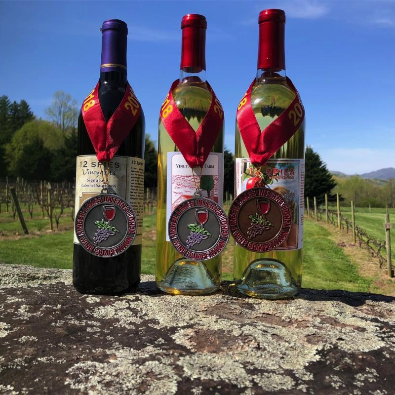 12 Spieas Wine Vineyard