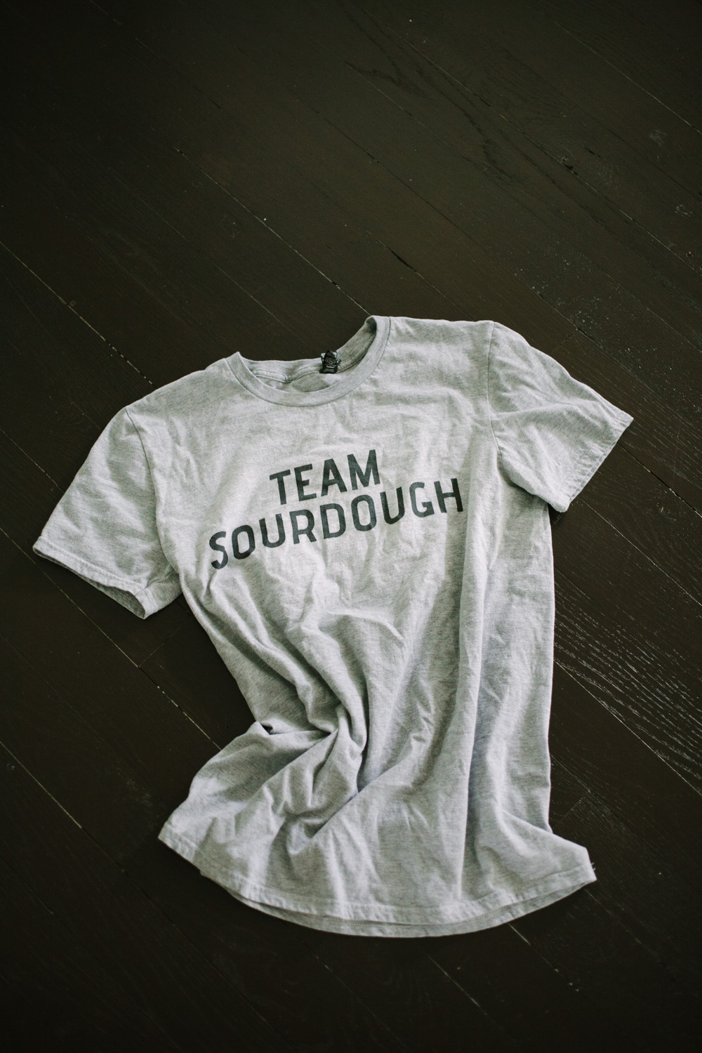 team sourdough graphic tees for food lovers