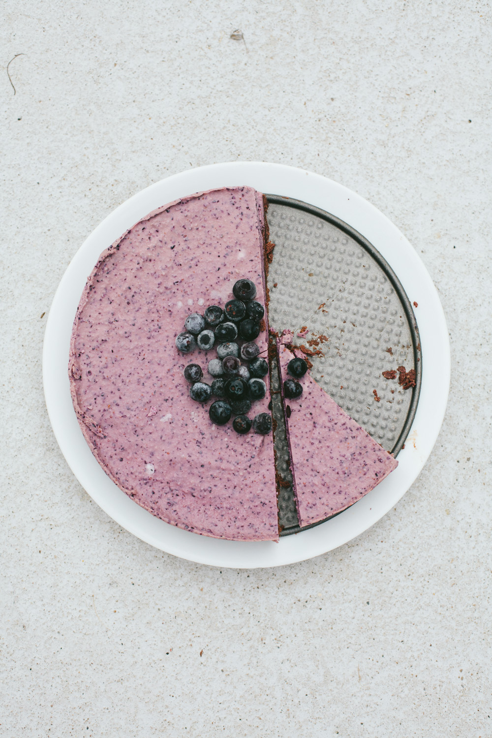 No-Bake Blueberry Pie / Go Eat Your Bread with Joy