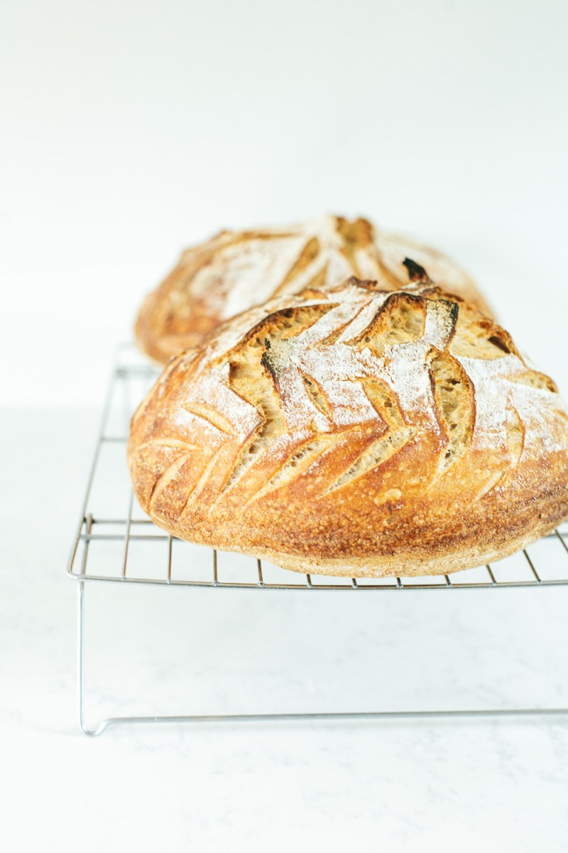 How to Bake Long-Fermented Sourdough Bread