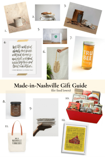nashville makers gift guide