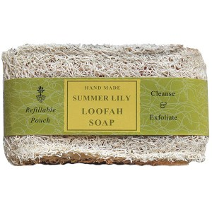 Thurlby Loofah Soap Summer Lily