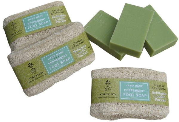 Thurlby Peppermint Foot Soap