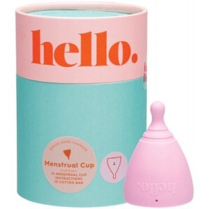 The Hello Cup Menstrual Cup, Blush Large
