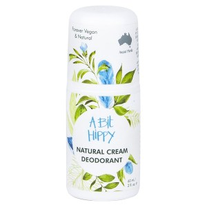 A Bit Hippy Natural Cream Deodorant, 60mL