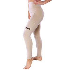 Ethica Activewear Bamboo Pocket Leggings Oak
