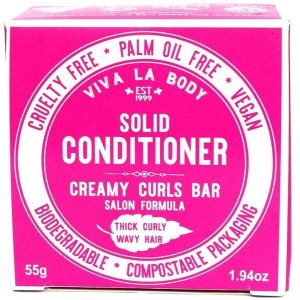 Viva La Body Solid Conditioner Creamy Curls Bar 55g