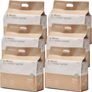 Ecoriginals Eco-Friendly Nappies Walker Bulk Pack