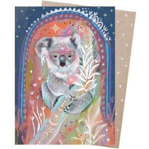 Earth Greetings Card Forest Guardian