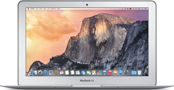 Refurbished – Macbook Air 13″ Core i5 1.6Ghz 120GB SSD 2015