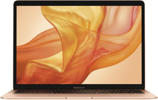 Apple Macbook Air (2018) – 128 GB opslag – 13.3 inch – Goud