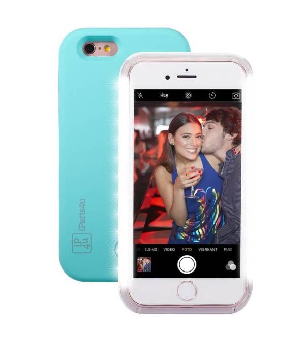 Selfie Hoesje iPhone 6/6S Mintgroen