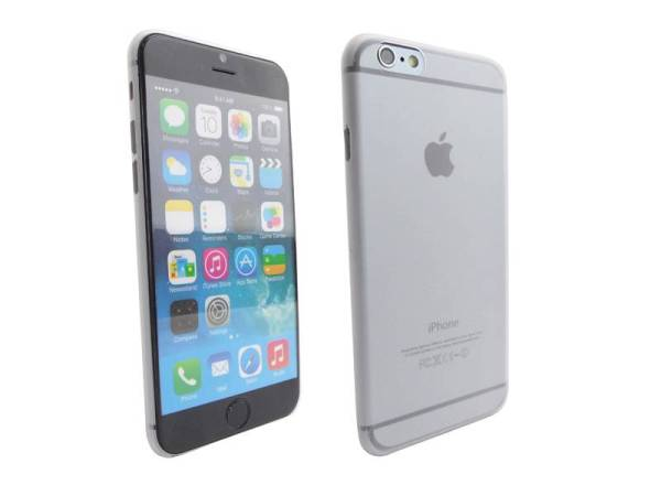 Ultra dunne premium Backcover Case iPhone 6 Transparant