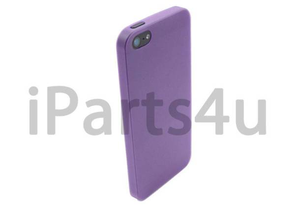 Ultra dunne premium Backcover Case iPhone 5/5S Paars