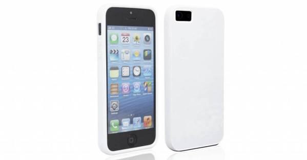 Siliconen Gel iPhone 5/5S Hoesje Wit