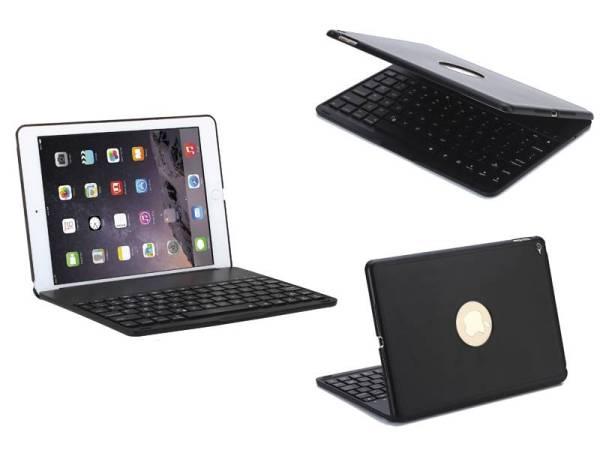 Toetsenbord iPad Air 2 / iPad Pro Hoes Note Kee Ultradun Zwart