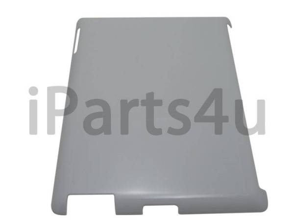 iPad Backcover Case met Smart Cover Uitsparing Wit