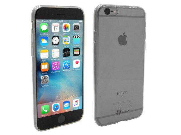 iPhone 6S Hoesje Ultra Dun Siliconen Transparant