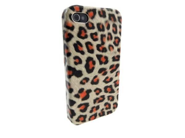 Hardcover Snap Case iPhone 4 Luipaard Panter