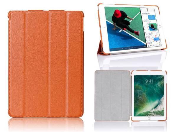 iPad Pro Hoes 10.5 inch Smart Case Kunstleder Oranje