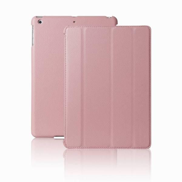 Smartcase iPad Air Hoes Leder Roze