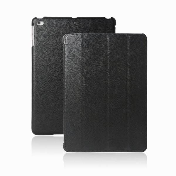 Smartcase iPad Air 2 Hoes Leder Zwart