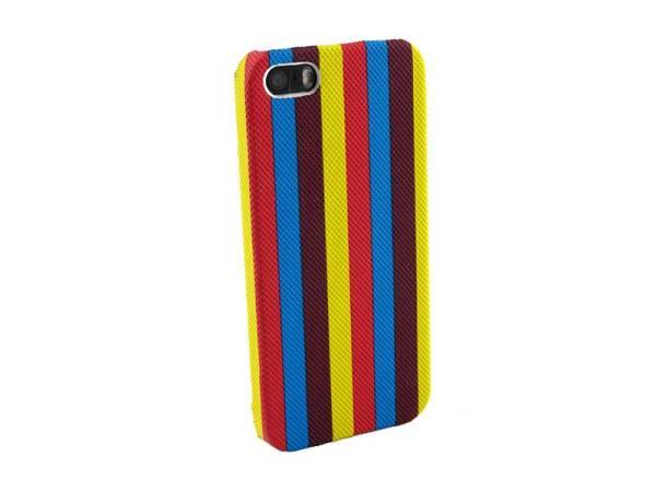 Hardcover hoesje iPhone 5 en 5S strepen diverse kleuren