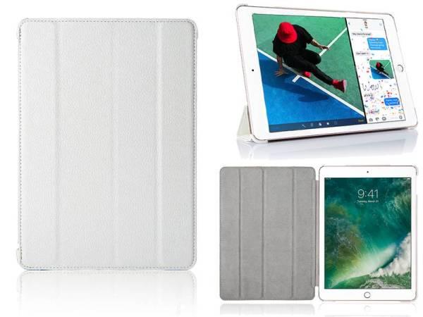 iPad 2017 Hoes / iPad Air Smart Case Kunstleder Wit