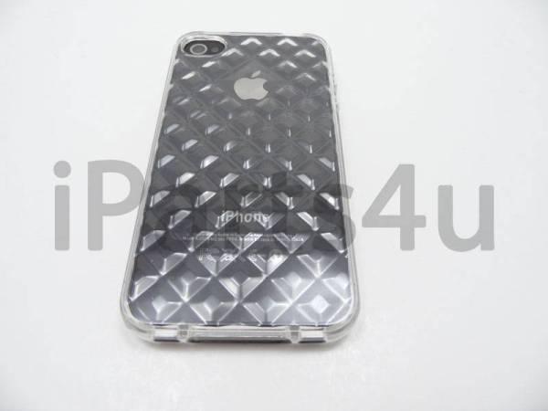 iPhone 4/4s Bumper Case Siliconen Diamant Transparant