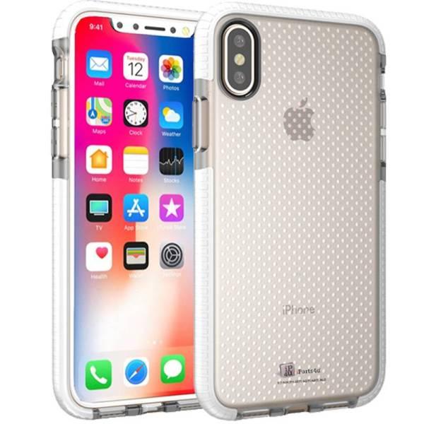 Schokbestendig iPhone X Bumper Hoesje Case Siliconen Shockproof Wit