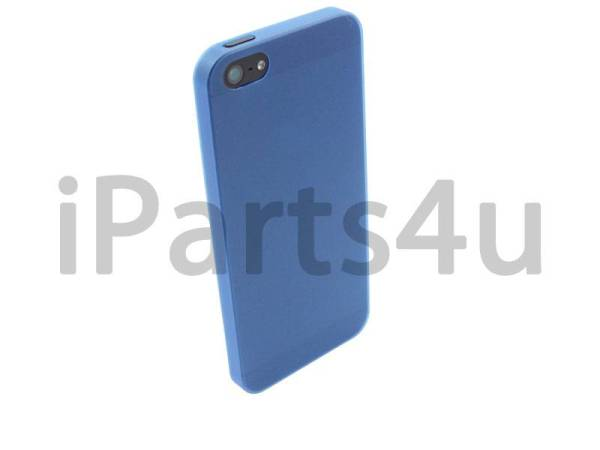 Ultra dunne premium Backcover Case iPhone 5/5S Blauw