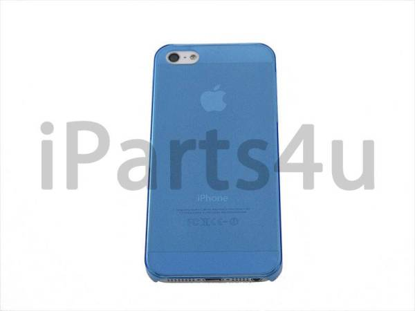 Harde Dunne Backcover Case iPhone 5/5S Blauw