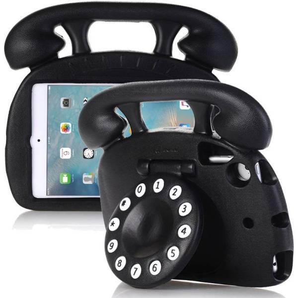 Kinderhoes iPad Mini Retro Telefoon Zwart