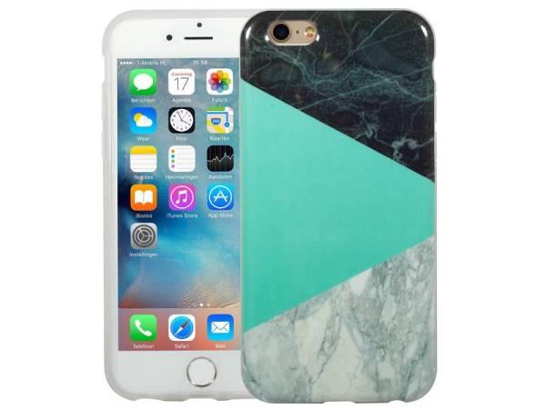 Marmer iPhone 6 / 6S Hoesje Marble Groen