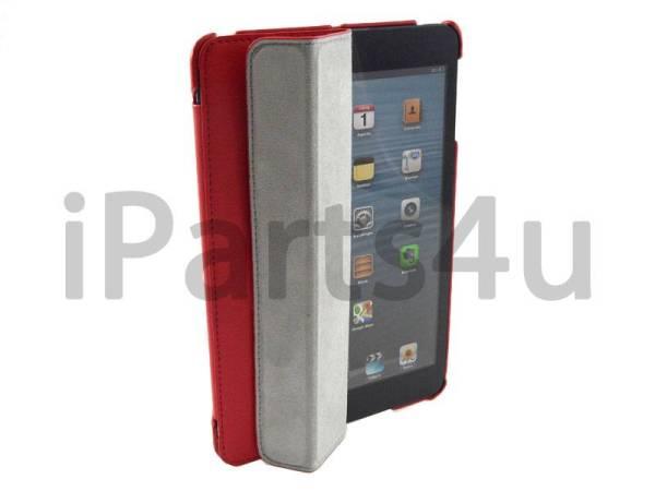 Smartcase iPad Mini Rood Leer