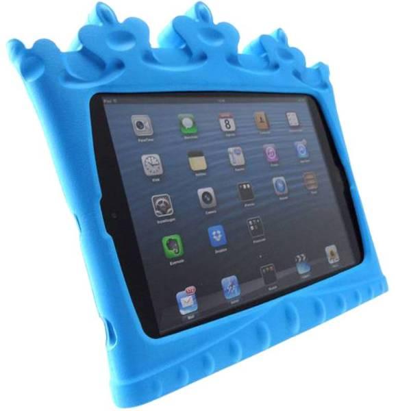 iPad mini Kinderhoes Blauw Kroon