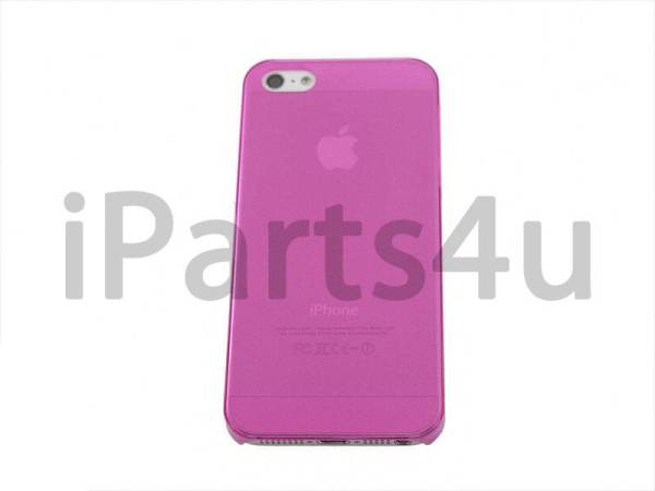 Harde Dunne Backcover Case iPhone 5/5S Roze