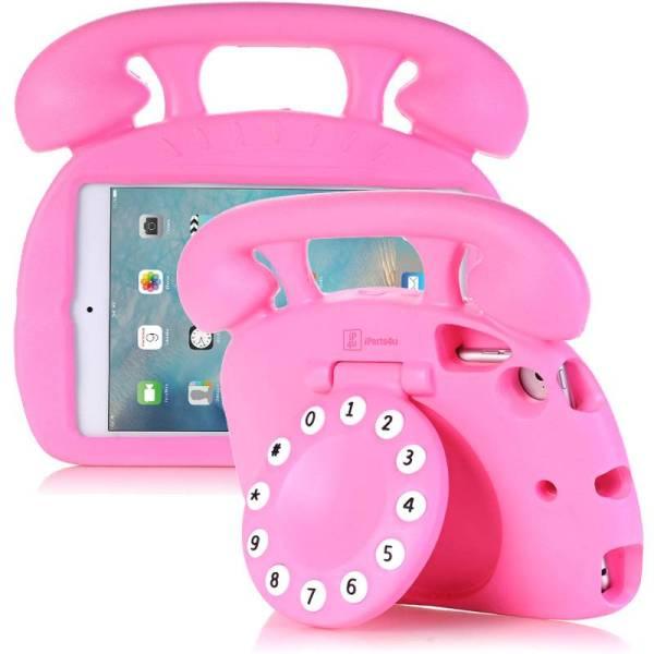 Kinderhoes iPad Mini Retro Telefoon Roze