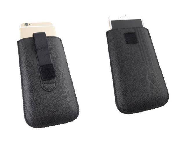 Lederen iPhone 6 en 6S Pouch Sleeve
