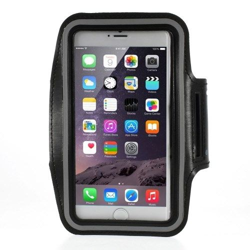 Sport Armband iPhone 6 en 6S Zwart