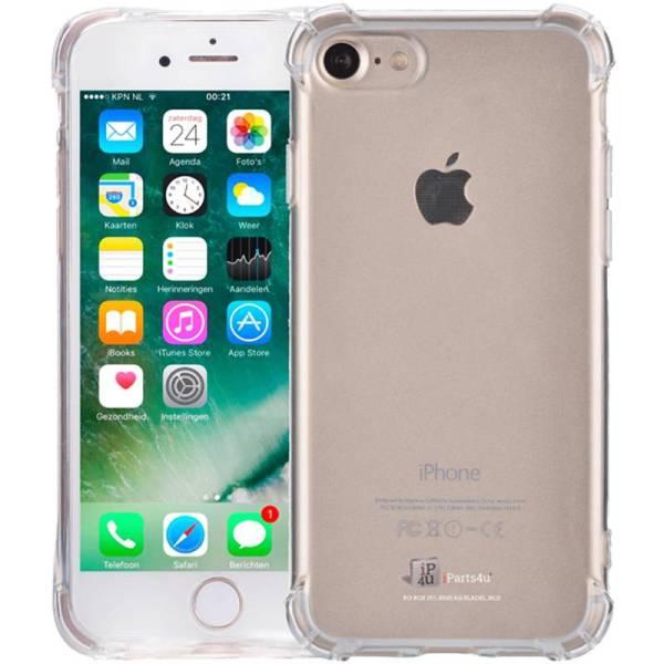 iPhone 8/7 Bumper Case Shockproof Hoesje Siliconen Transparant