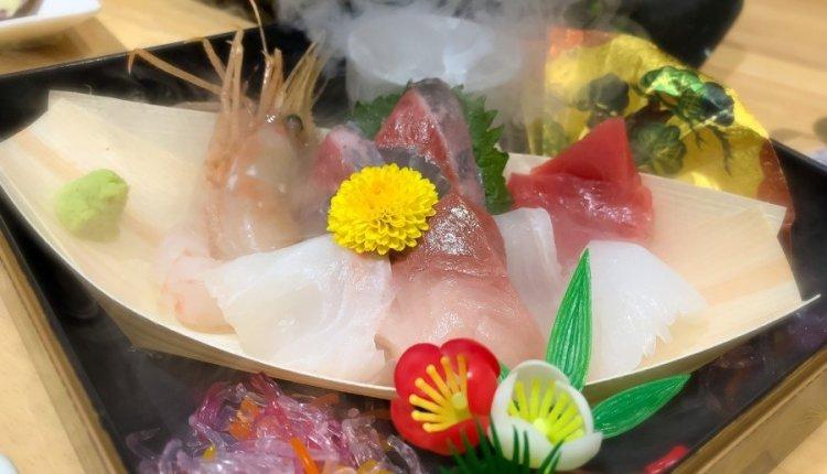 刺身盛合わせ - 俺の魚を食ってみろ! 神田