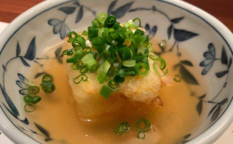 揚げ出し豆腐 - 人形町 田酔