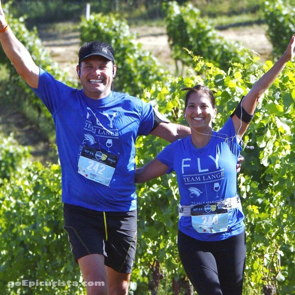 Excellent race through the vineyards