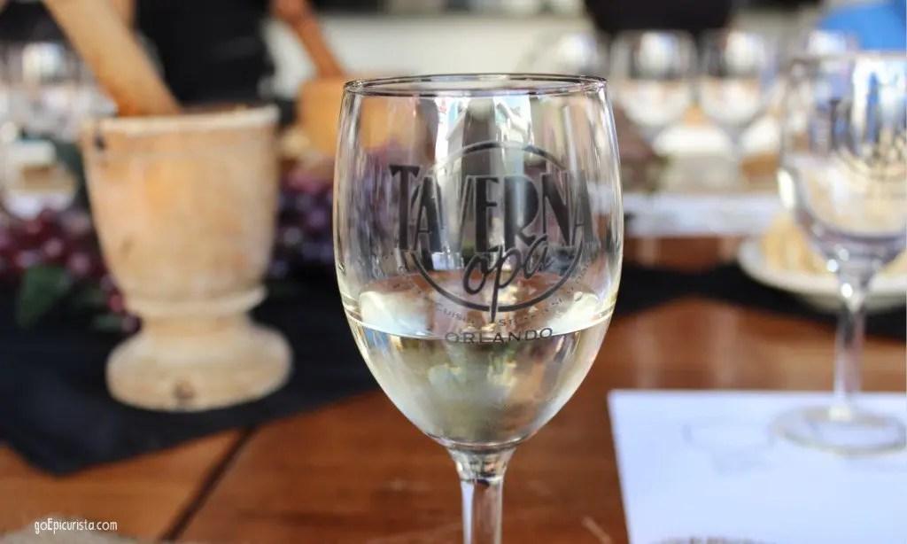 Taverna Opa Wine Dinner Orlando Events with www.goepicurista.com